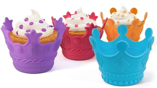 Aristocakes - Silicone Crown Cupcake Baking Cups