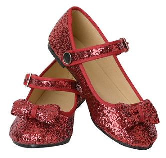 Sparkly Red Glitter Shoes - Everything Princesses