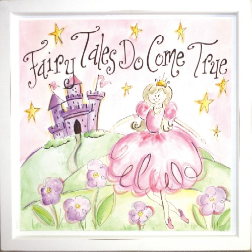 Fairy Wall Art fairy tales do come true art - everything princesses