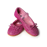 Pinkle Toes Glitter Dress Up Shoes