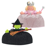 Glinda Good Witch / Wicked Witch Reversible Doll
