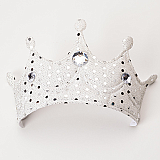 White Soft Princess Crown