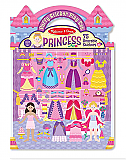 Puffy Princess Sticker Play Set