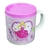 Princess Cup with Removable Lid