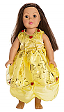 Belle of the Ball Princess Doll Dress