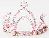 Pink Jeweled Crown