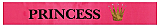 Satin Princess Sash