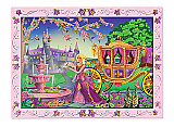 Fairytale Princess Peel & Stick by Number