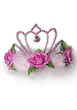 Crown Jewel Pink Tiara