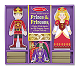 Wooden Prince & Princess Dress Up