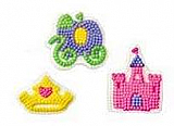 Castle, Carriage and Crown Icing Decorations