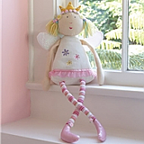 Plush Fairy Princess Doll