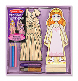 Decorate-Your-Own Princess Fashions