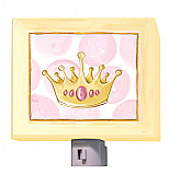 Pretty Princess Crown Night Light