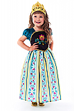 Scandinavian Princess Coronation Dress