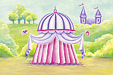 Princess Canopy Wallpaper Mural