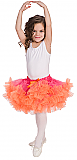Fuchsia Pettiskirt + Orange Ruffle